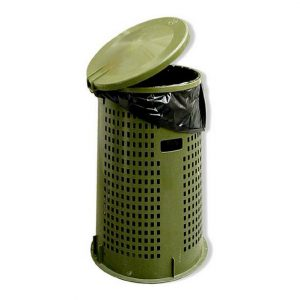 zeffiro cestone nettezza verde