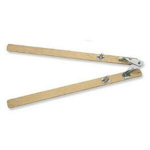 telaio a forbice in legno