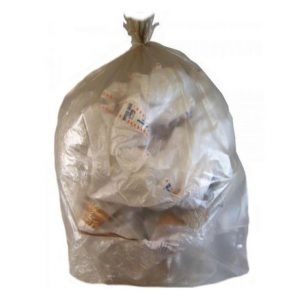 sacchi nettezza trasparenti