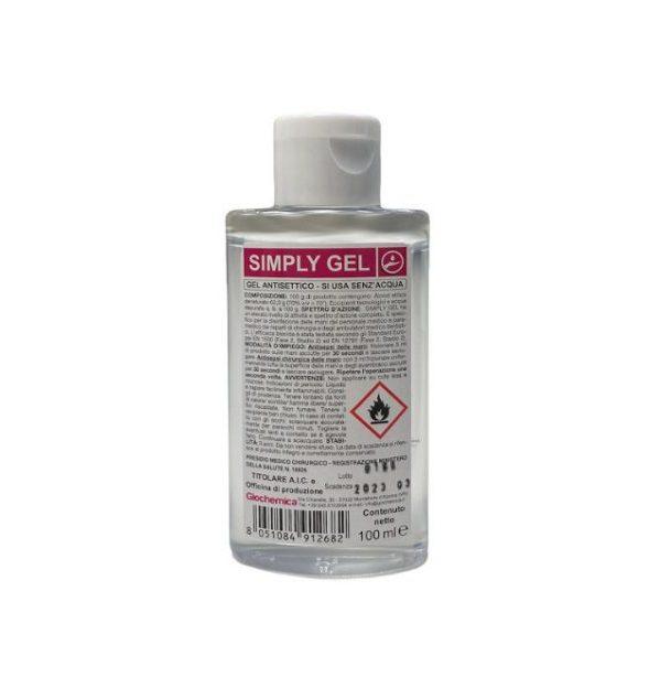 P1226 simply gel antisettico mani